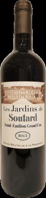 Les Jardins de Soutard 2013 (adjusted levels)
